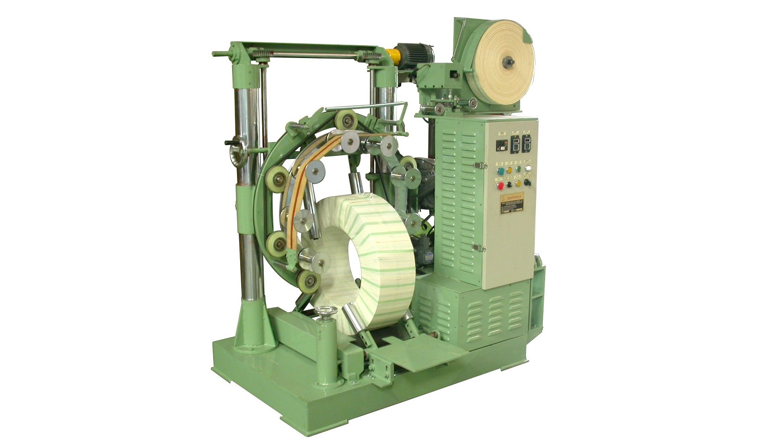 Automatic Coil PE Wrapping Machine